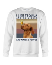 Tequila and Vizsla Crewneck Sweatshirt thumbnail