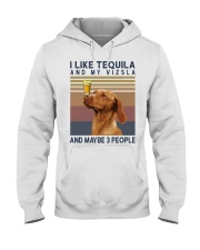 Tequila and Vizsla Hooded Sweatshirt thumbnail
