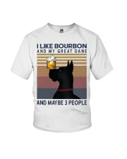 Bourbon and Great Dane Youth T-Shirt thumbnail