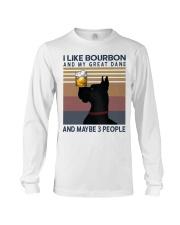 Bourbon and Great Dane Long Sleeve Tee thumbnail