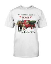 Horse Christmas Classic T-Shirt thumbnail