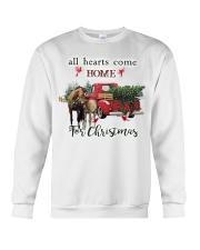 Horse Christmas Crewneck Sweatshirt thumbnail