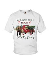 Horse Christmas Youth T-Shirt thumbnail