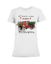 Horse Christmas Premium Fit Ladies Tee thumbnail