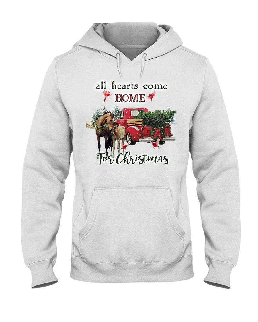 Horse Christmas Hooded Sweatshirt