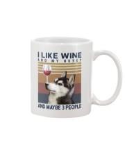 Wine and Husky Mug thumbnail