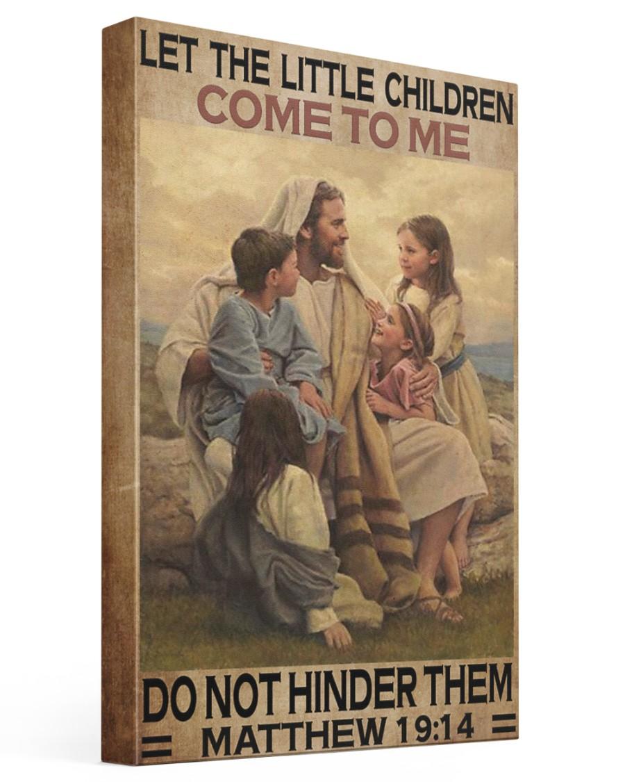 Jesus-Matthew 16x24 Gallery Wrapped Canvas Prints