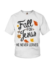 fall for jesus 2 Youth T-Shirt thumbnail
