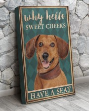 Dachshund why hello 16x24 Gallery Wrapped Canvas Prints aos-canvas-pgw-16x24-lifestyle-front-07