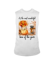 Pug dog love fall Sleeveless Tee thumbnail