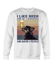 Beer and Chihuahua hp Crewneck Sweatshirt thumbnail