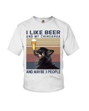 Beer and Chihuahua hp Youth T-Shirt thumbnail