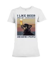 Beer and Chihuahua hp Premium Fit Ladies Tee thumbnail