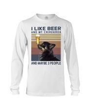 Beer and Chihuahua hp Long Sleeve Tee thumbnail
