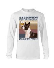 Bourbon and Boston Terrier kp Long Sleeve Tee thumbnail