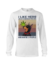 Herb and Doberman Pinscher Long Sleeve Tee thumbnail