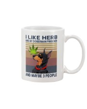 Herb and Doberman Pinscher Mug thumbnail