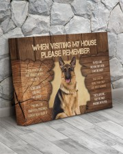 Visit home German Shepherd 14x11 Gallery Wrapped Canvas Prints aos-canvas-pgw-14x11-lifestyle-front-13