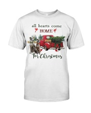 Greyhound Christmas Premium Fit Mens Tee tile