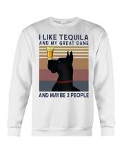 Tequila and Great Dane Crewneck Sweatshirt thumbnail
