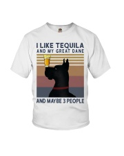 Tequila and Great Dane Youth T-Shirt thumbnail