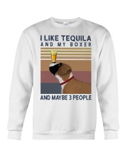 Tequila and Boxer Crewneck Sweatshirt thumbnail
