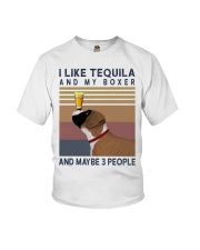 Tequila and Boxer Youth T-Shirt thumbnail