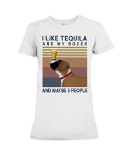 Tequila and Boxer Premium Fit Ladies Tee thumbnail