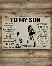 15 BASEBALL TO MY SON 17x11 Poster poster-landscape-17x11-lifestyle-14
