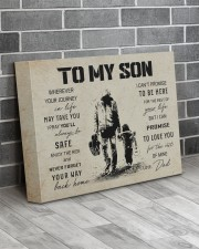 4 GUITAR TO MY SON 14x11 Gallery Wrapped Canvas Prints aos-canvas-pgw-14x11-lifestyle-front-12