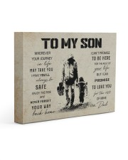 4 GUITAR TO MY SON 14x11 Gallery Wrapped Canvas Prints front