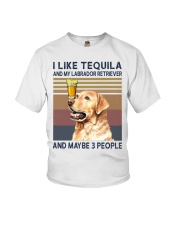 Tequila and Labrador Retriever Youth T-Shirt thumbnail