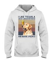 Tequila and Labrador Retriever Hooded Sweatshirt thumbnail