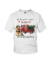 St Bernard Christmas Youth T-Shirt thumbnail