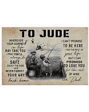 TO JUDE FISHING 17x11 Poster front