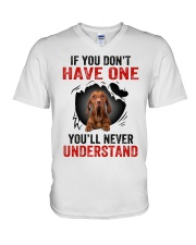Vizsla in Mine V-Neck T-Shirt thumbnail