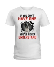 Boston Terriers in Mine Ladies T-Shirt thumbnail