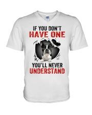 Boston Terriers in Mine V-Neck T-Shirt thumbnail