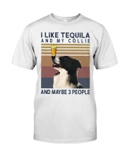 Tequila and Collie Classic T-Shirt front