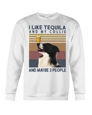 Tequila and Collie Crewneck Sweatshirt thumbnail