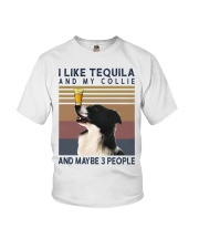 Tequila and Collie Youth T-Shirt thumbnail