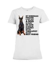 My Doberman Pinscher Premium Fit Ladies Tee thumbnail