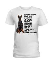 My Doberman Pinscher Ladies T-Shirt thumbnail