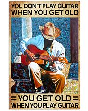 GUITAR - DON'T GET OLD 11x17 Poster thumbnail
