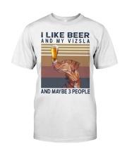 Beer and Vizsla Premium Fit Mens Tee thumbnail