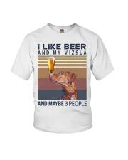 Beer and Vizsla Youth T-Shirt thumbnail