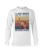 Beer and Vizsla Long Sleeve Tee thumbnail