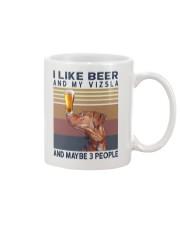 Beer and Vizsla Mug thumbnail