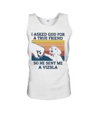 true friend Vizsla Unisex Tank thumbnail