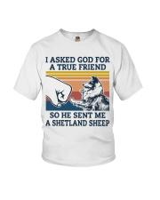 true friend a Shetland Sheep Youth T-Shirt thumbnail